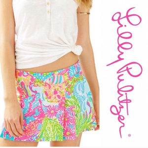 Lilly Pulitzer Luxletic Skort in Lovers Coral !